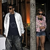 Photos of JayZ and Beyonce