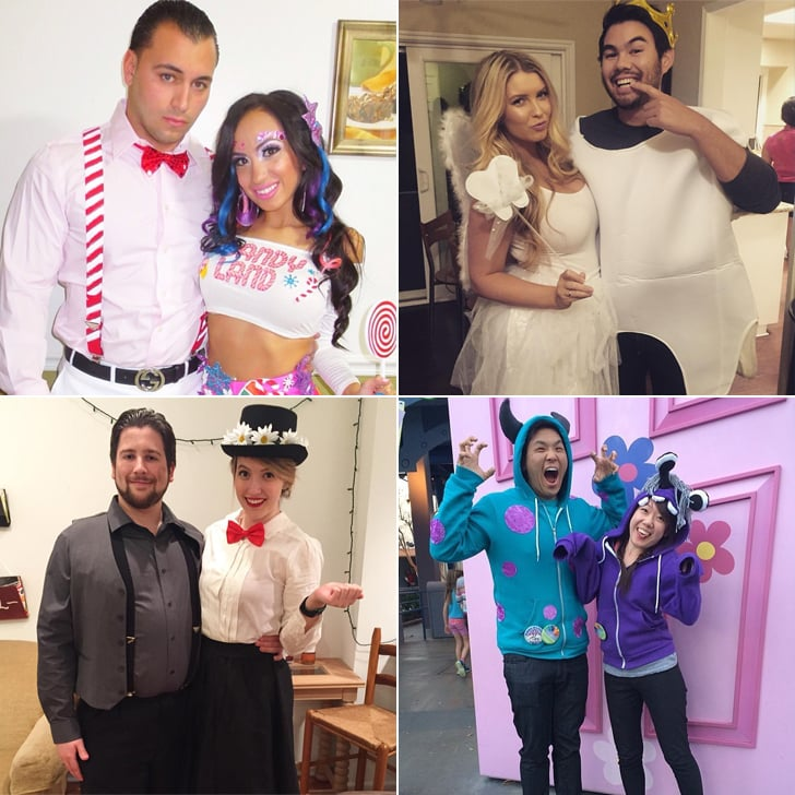 Simple Halloween Costumes For Couples  sc 1 st  Popsugar : halloween costumes in pairs  - Germanpascual.Com
