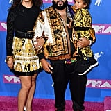 DJ Khaled, Wife Nicole Tuck, and Son Asahd Tuck