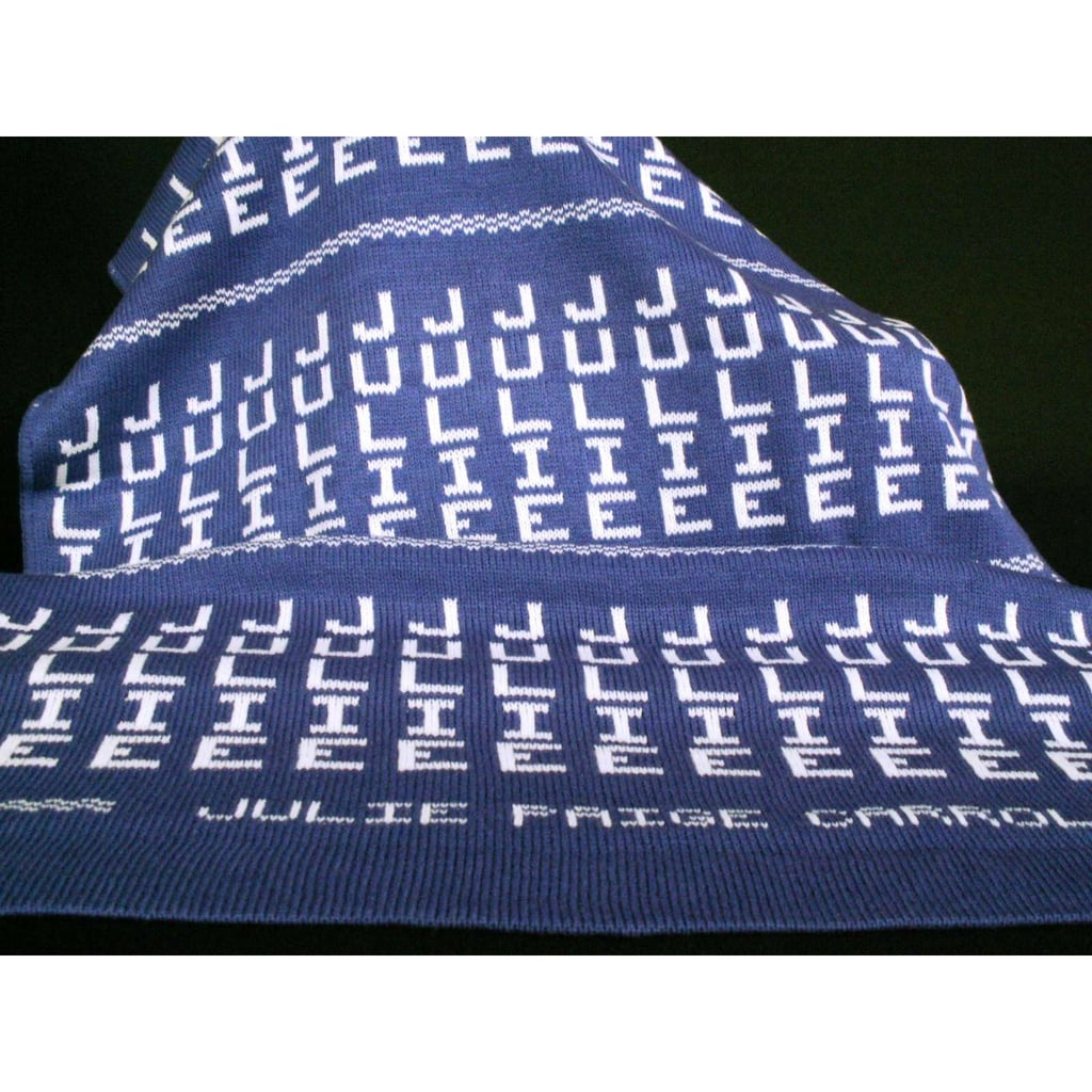 Personalized Stroller Blanket