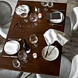 Dark Walnut Square Bistro Table