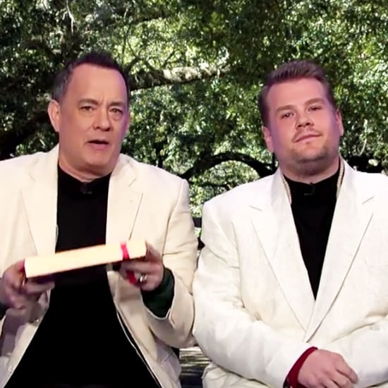 Tom Hanks and James Corden Recreate All His Movies