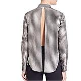 Kendall + Kylie Gingham Open-Back Shirt ($36)