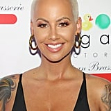 Amber Rose's Signature Shaved Head