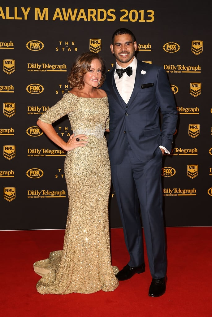 Sally and Greg Inglis