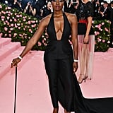 Danai Gurira at the 2019 Met Gala