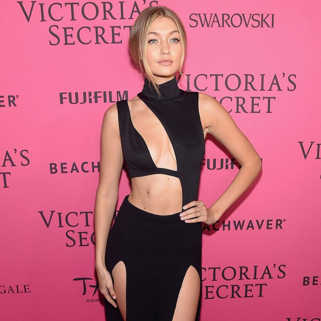ac5aceb646 Gigi Hadid Victoria s Secret Fashion Show Afterparty Dress ...