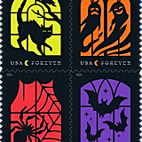 Spooky Silhouette Stamps