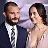 Jamie Dornan and Dakota Johnson Fifty Shades Darker Premiere