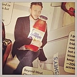 Ariel Foxman clearly loves Snapple, and The Daily Front Row's collage. Source: Instagram user afoxman