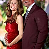 Dwayne Johnson and Lauren Hashian