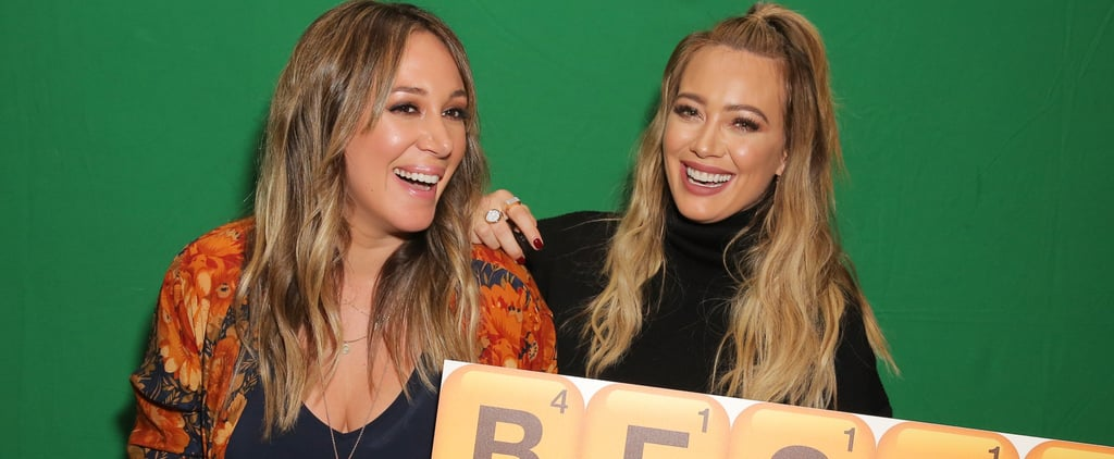 Hilary Duff Talks About Her Sister Haylie Duff
