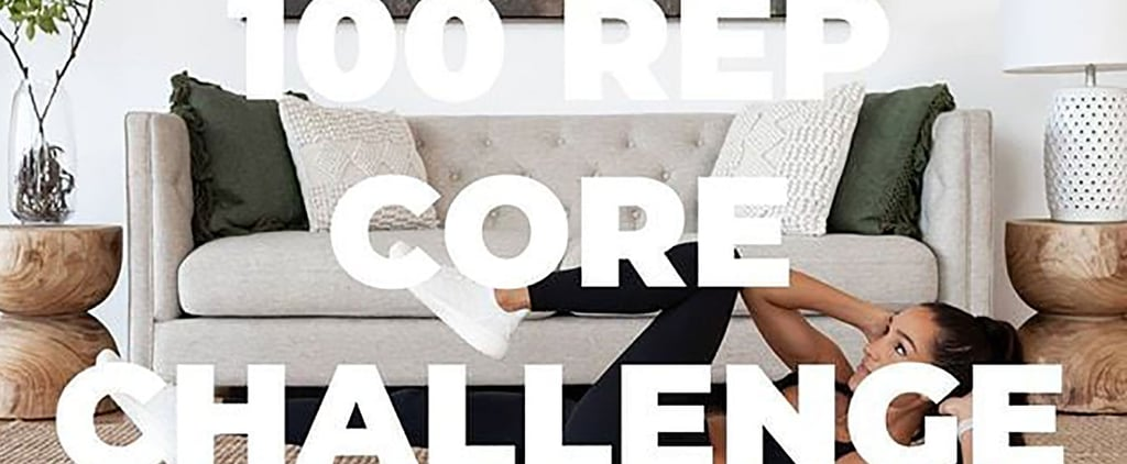 Kayla Itsines's 100-Rep Core Challenge