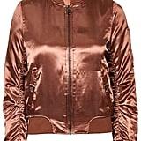 Topshop Shiny Rust Ma1 Bomber ($115)