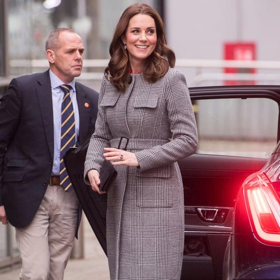 Kate Middleton's L.K. Bennett Checked Coat