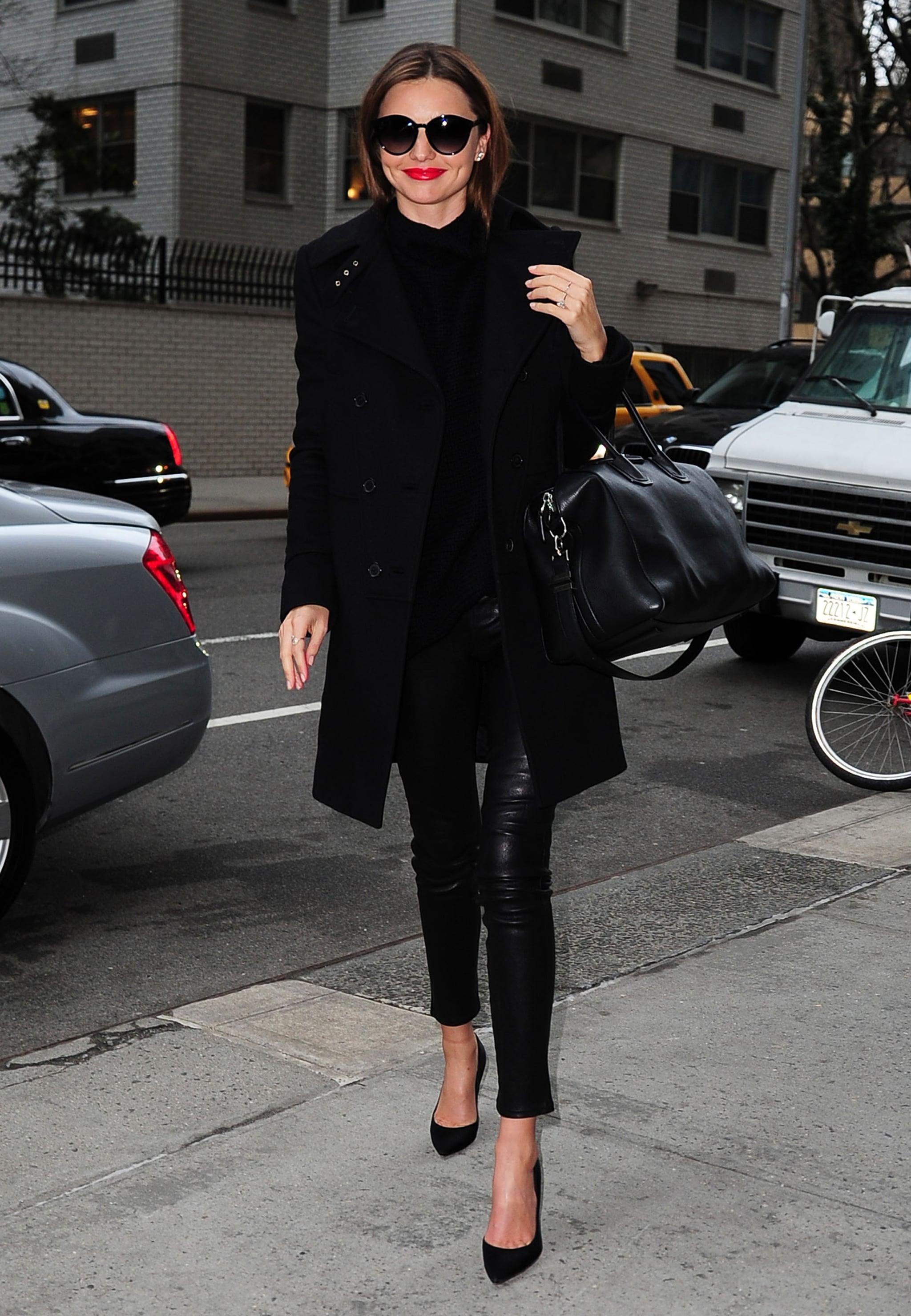 All Black Coat - Coat Nj