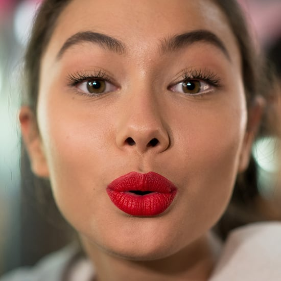 Matte Red Lipstick at Melbourne Fashion Festival