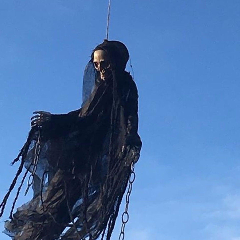 drone grim reaper halloween prank 2016 popsugar tech - Reaper Halloween