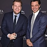 James Corden and Dominic Cooper