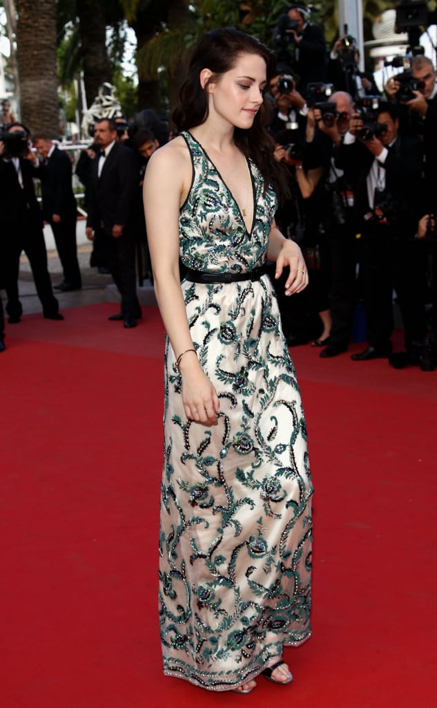 Kristen Stewart stepped onto the red carpet for the On the Road premiere in Cannes.