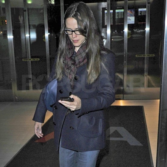Pictures of Jennifer Garner Arriving in NYC Before the Arthur Premiere