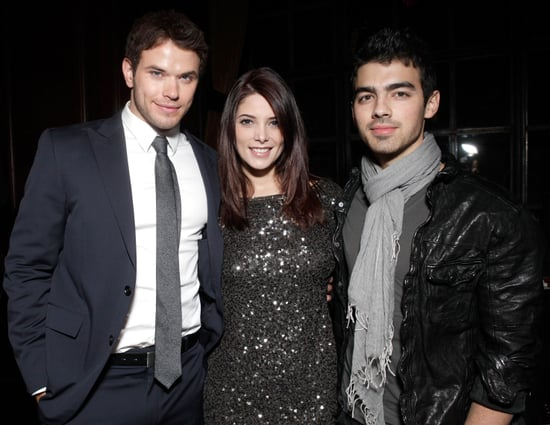 Kellan Lutz at the Meskada Premiere With Ashley Greene and Joe Jonas in LA