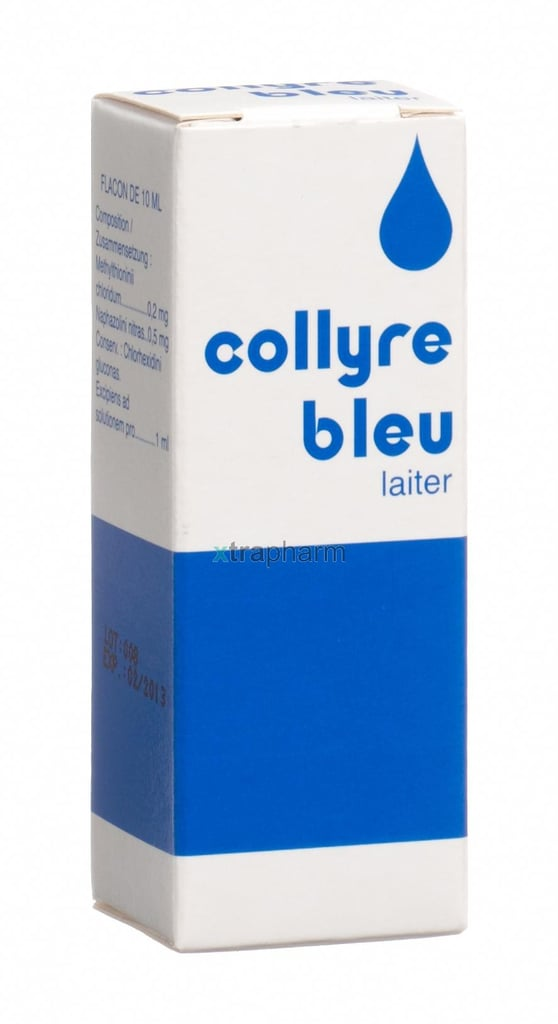 Collyre Bleu Eyedrops