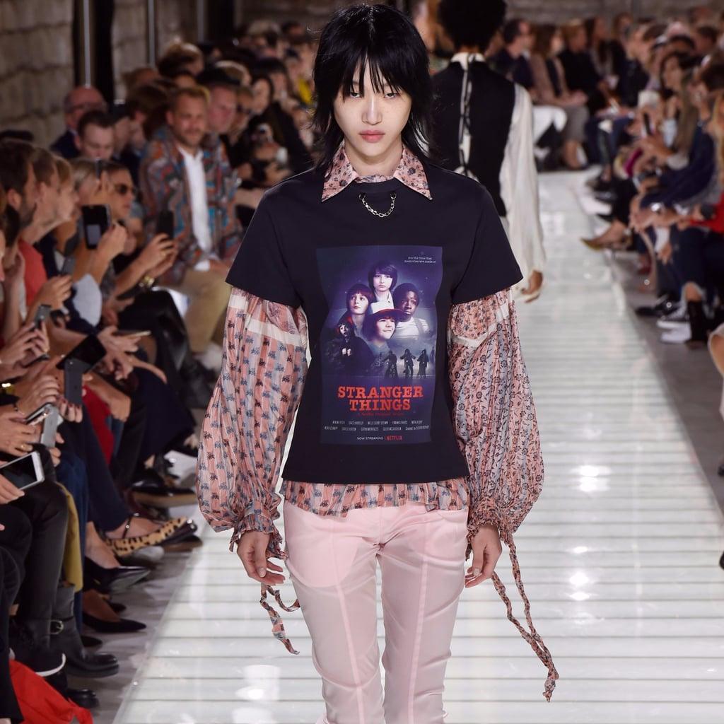 We Love Louis Vuitton's Stranger Things Tee Like Eleven Loves Eggos