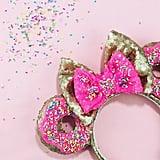 Donut Sprinkles Sequin Minnie Ears ($55)