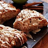 Apple Cinnamon Ricotta Scones With Whiskey Glaze