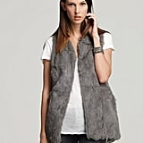 Larok Gray Rabbit Fur ($378)