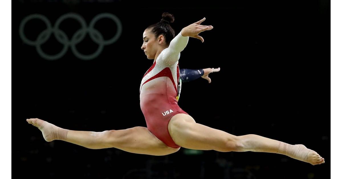 Aly Raisman Gymnastics Balance Beam Video Popsugar Fitness
