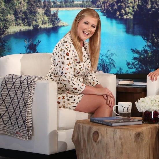 Amy Schumer on The Ellen DeGeneres Show December 2016