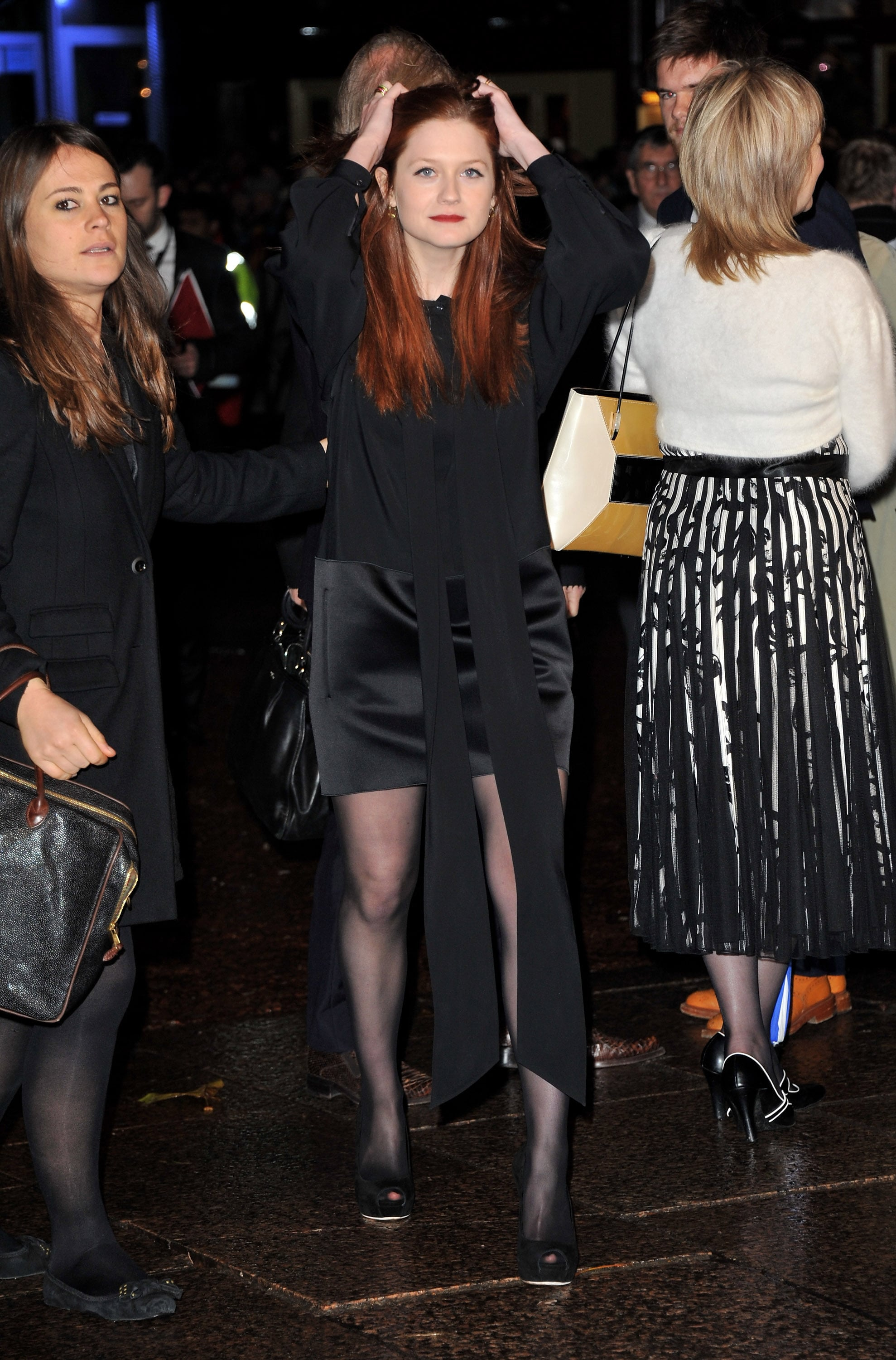 Pictures Of Bonnie Wright At Harry Potter And The Deathly