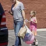 Jennifer and Violet Pick Up Sweet Treats While Ben Nabs Another Role