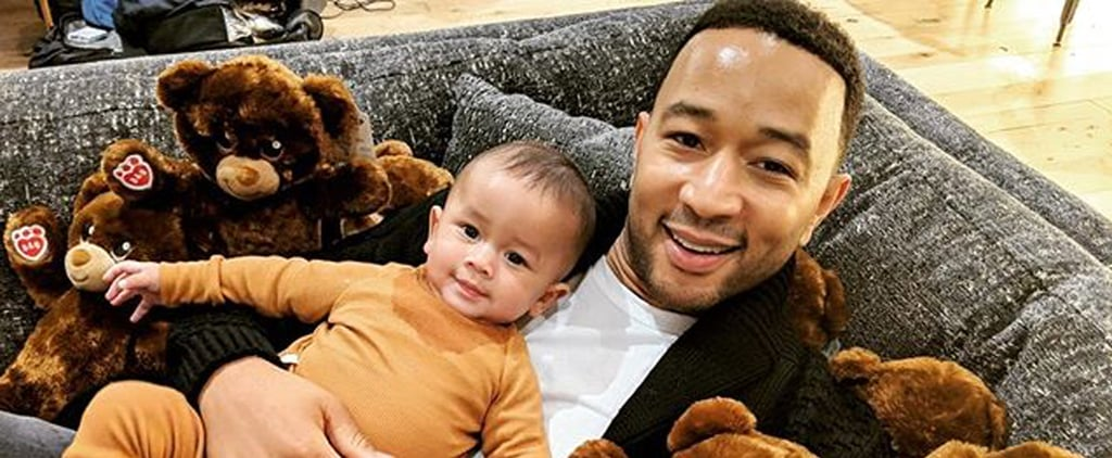 John Legend and Miles Stephens Photos