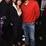 Michelle Rodriguez and Tyson Beckford linked up at Naomi Campbell's Fashion For Relief event.
