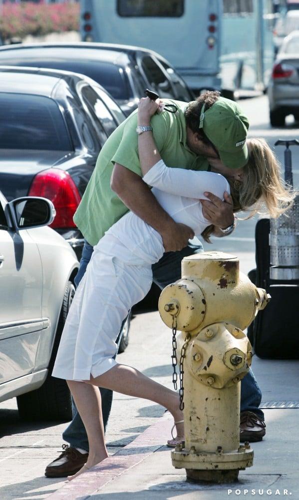 Jim Belushi dipped Jennifer Sloan in September 2007 for a romantic showing in LA.