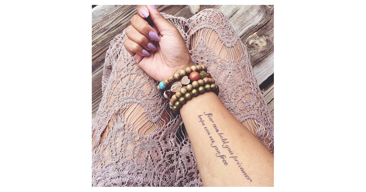 Temporary tattoos that look real popsugar beauty photo 27 for How to make a fake tattoo look real