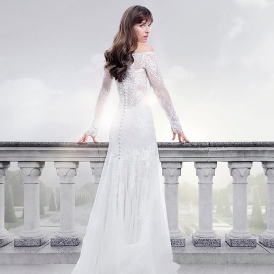 Anastasia's Wedding Dress in Fifty Shades Freed