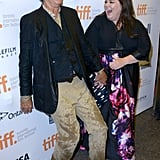 Bill Murray and Melissa McCarthy couldn't stop the laughs at the St. Vincent premiere.