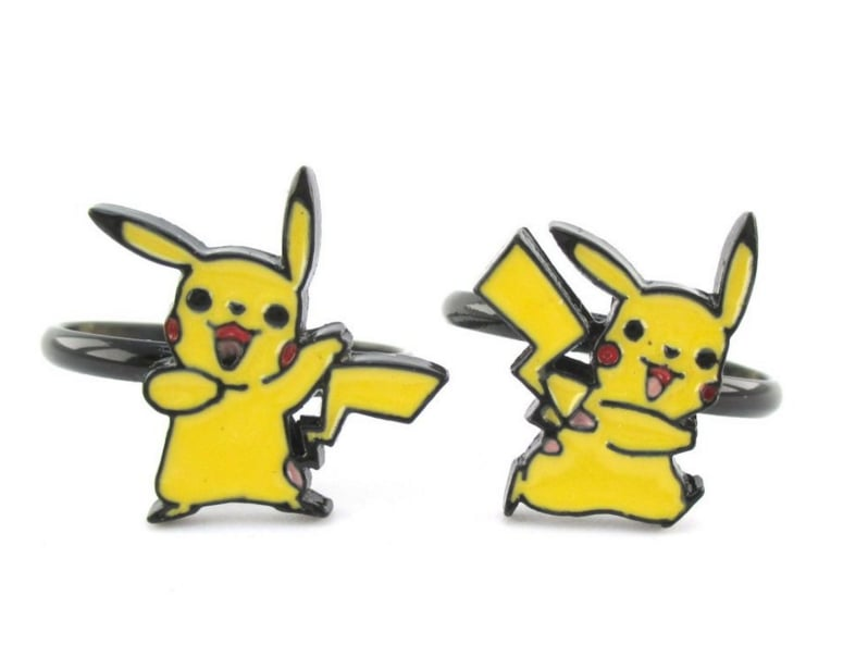 Pikachu Adjustable Rings ($13)