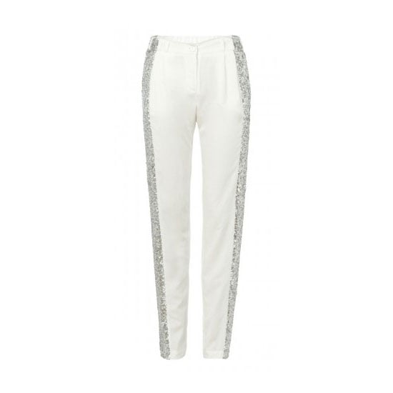 Picture me, dry martini in hand, wearing these pants at a beach front bar in Bali. I'll be ringing in the New Year in sequinned style! — Alison, BellaSugar editor Pants, $390, sass & bide
