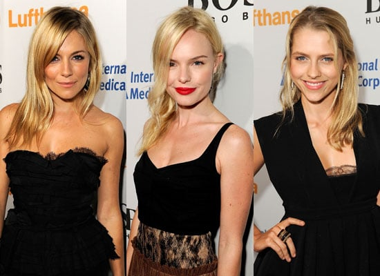 Sienna Miller, Kate Bosworth and Teresa Palmer at Esquire House