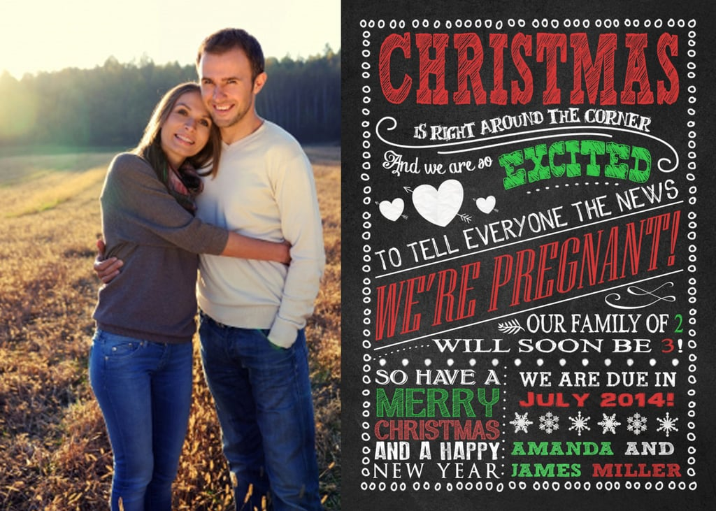 baby christmas announcements