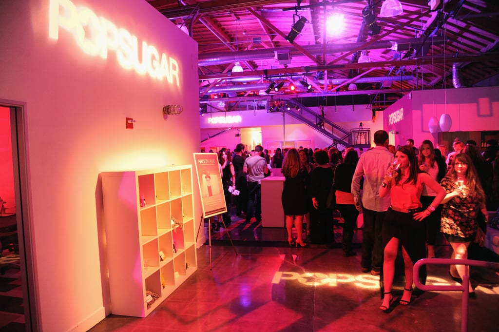 The new PopSugar studios opened in LA with a performance by Ellie Goulding.