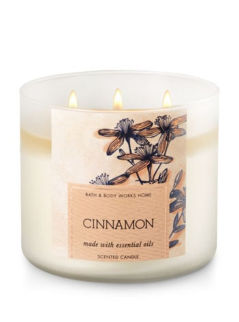 Cinnamon candle ($25)