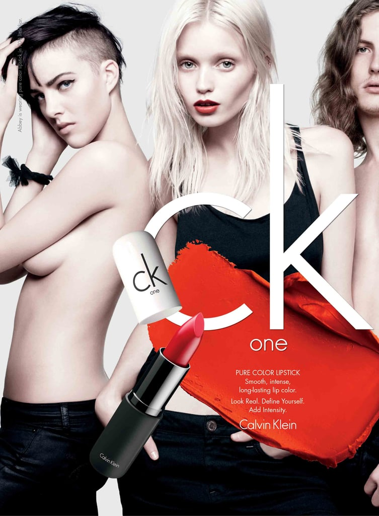 ck one: Eliza Cummings, Abbey Lee Kershaw, Viggo Jonasson
