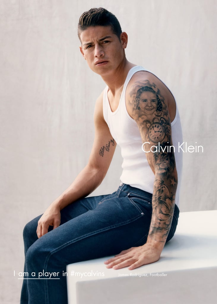 James Rodriguezs Calvin Klein Fall 2016 Campaign