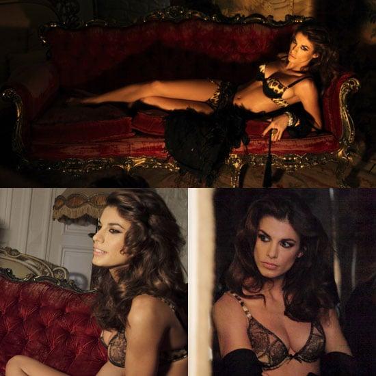Photos of Elisabetta Canalis in Her Underwear For Roberto Cavalli Underwear